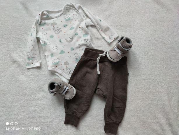 SPRZEDAM - komplet niemowlęcy - rozmiar 68, 0-6 miesięcy