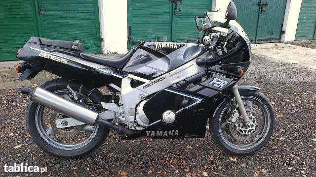 Yamaha fzr 600 rama z dokumentacją PL
