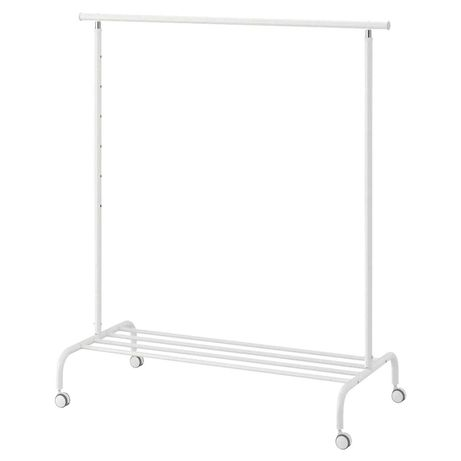 Ikea rigga biały wieszak