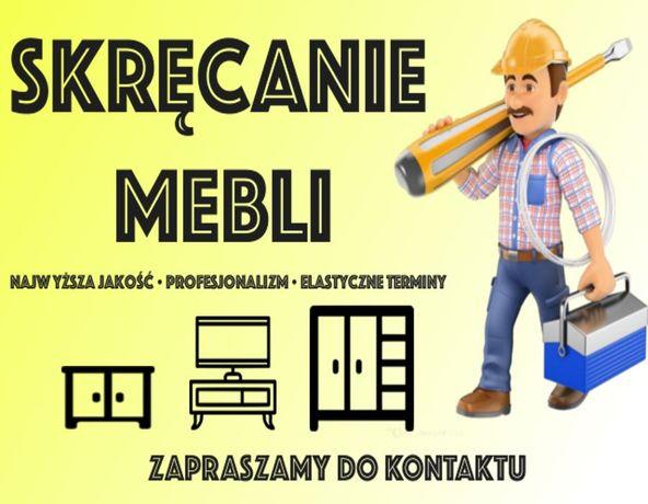 Skręcanie, składanie, montażmebli IKEA, BRW, AGATA i innych