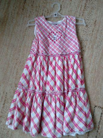 Zestaw ubrań dla dziewczynki 128