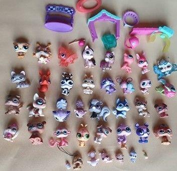 Figurki LPS - Littlest Pet Shop zestaw z unikatem #893 piesek COLLIE