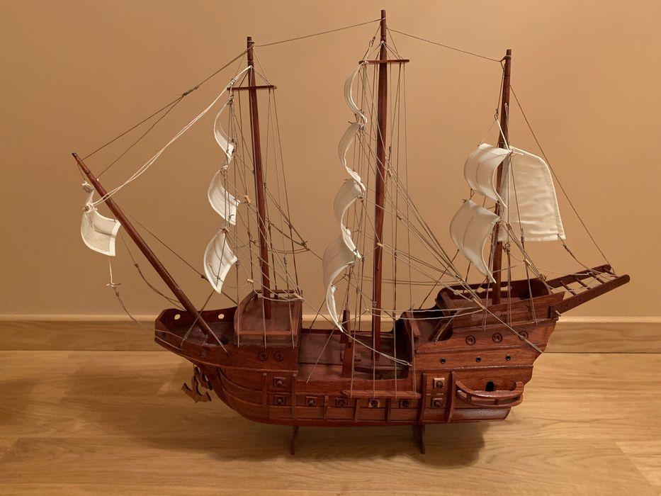 Statek drewniany ręcznej roboty Legnica - image 1