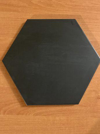 Płytki heksagonalne grafit