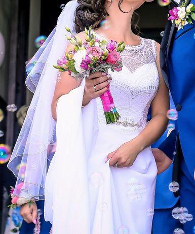 Suknia Ślubna roz. 38 ISABEL BORNEO