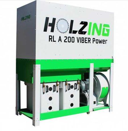 Aspiração 7.5cv-RLA 200 VIBER Power SAFE 6500 m3h HOLZING