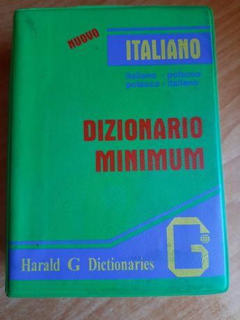 Słownik mini włosko polski, polsko włoski