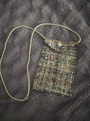Bag com tecido Chanel