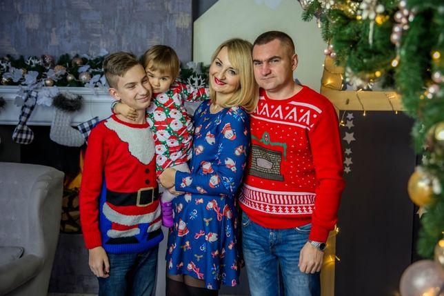 Family look, фемели лук новогодний