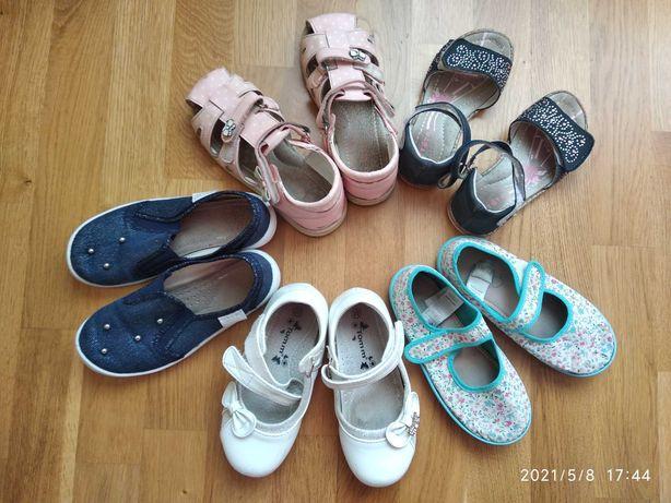 Дитяче літнє взуття 28-30 розмір