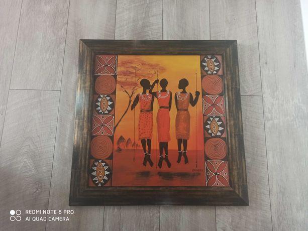 Obraz motyw afrykański