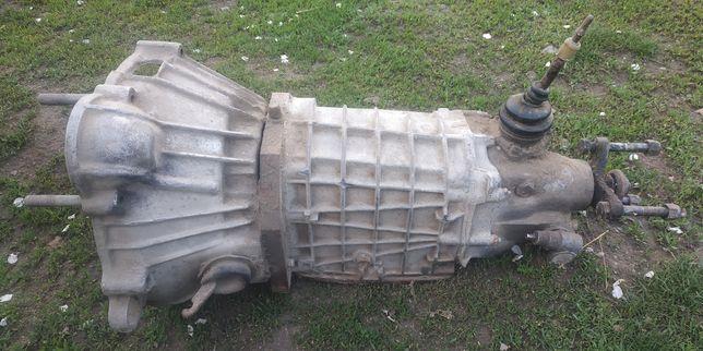 Коробка передач 4 ст. з ваз з перехідною плитою на Москвіч 412