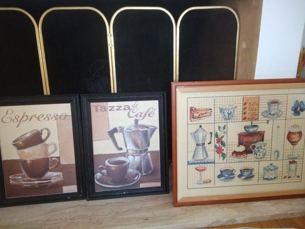 Obrazy grafiki kaffe