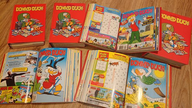 Komiksy Kaczor Donald 106 sztuk. (wersja Norweska )