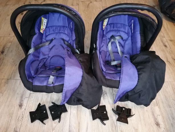Wózek bliźniaczy twinni babyactive 3w1