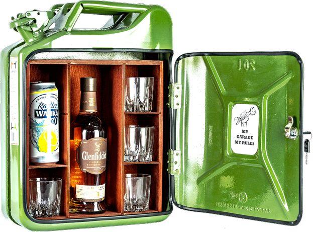 Kanister jako prezent na alkohol barek schowek skrytka