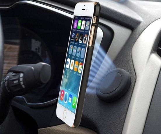 Силиконовый магнитный держатель телефона на панель автомобиля
