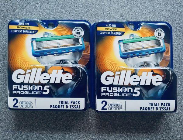 Gillette Fusion5 Proglide Cartridges 2 шт.