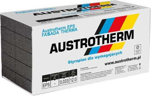 Styropian Austrotherm Fasada Therma Grafit EPS 033 ,cena 279,00 brutto