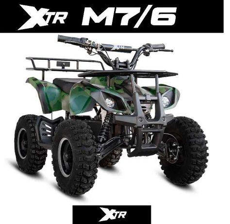 MINI QUAD XTR M7 50cc 1000W dla dzieci LED NOWOŚĆ