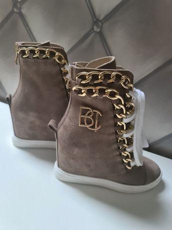 Sneakersy Bocci skórzane