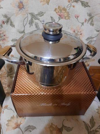 Набор посуды 2л, 4,2л и сковорода 3л фирмы Zepter.