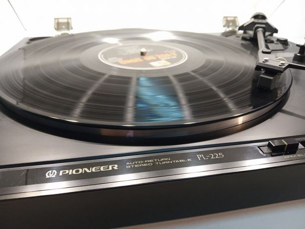 PIONEER gira-discos PL-225