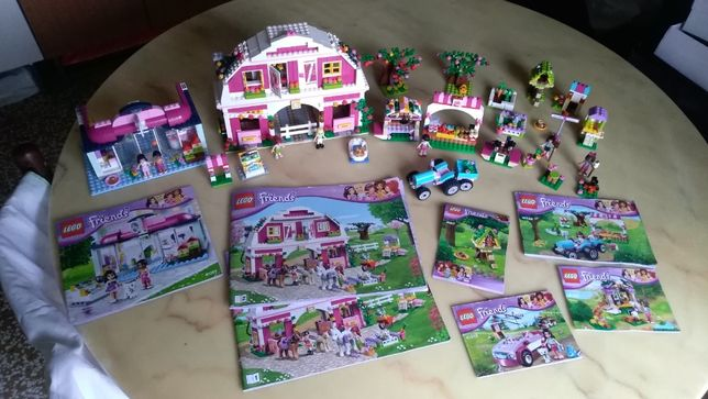 Конструктор LEGO Friends Sunshine Ranch (ферма-ранчо)