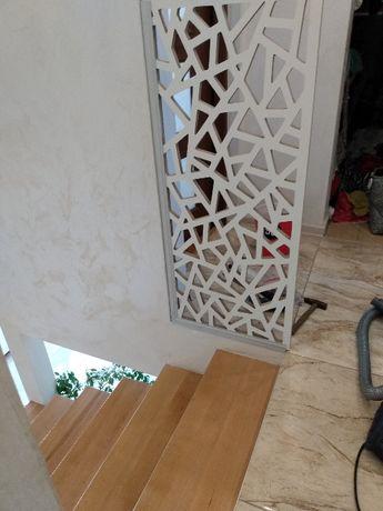 Panele ażurowe Balustrady na schody ściana ażurowa