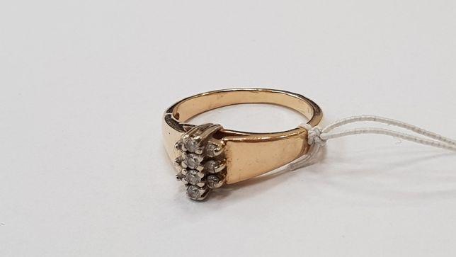 Przepiękny złoty pierścionek damski! 585/ 3.6 gram/ R11/ sklep Gdynia