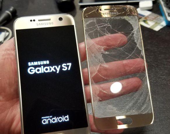 Szybka Samsung S7 Edge S8 + wymiana szybki wyświetlacza gratis