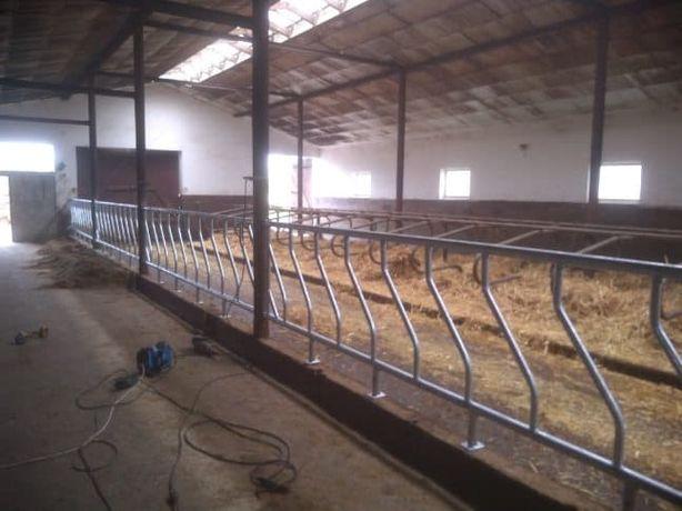 WYGRODZENIA WYGRODY stanowiska drabiny PASZOWE dla bydła