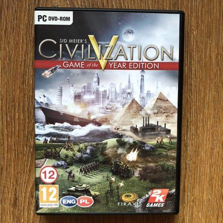 Sid Meier's Civilization V Game of the Year Edition polska wersja