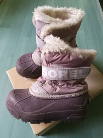 Buty zimowe dla dziewczynki, rozm. 30 i 2/3