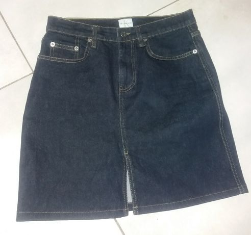Spódnica jeansowa Calvin Klein