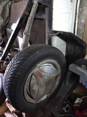 Прицеп легковой (белый) марки КРАЗ 8138