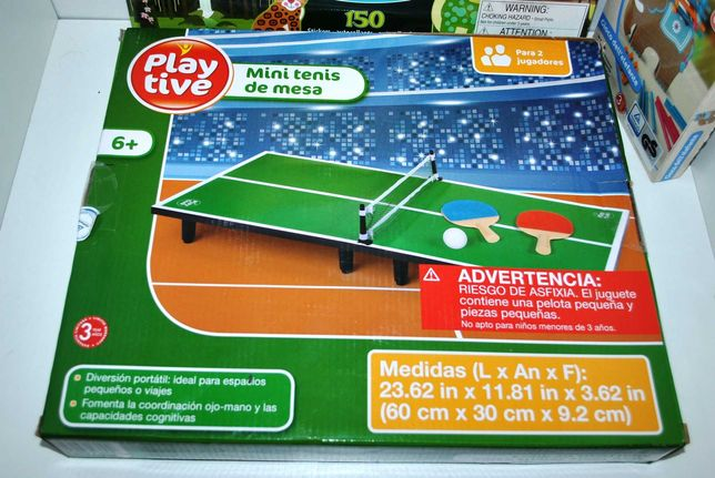 Настольная игра мини теннис PlayTive Германия 6+ деревянная