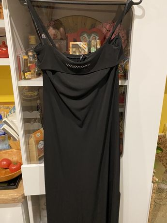 Sukienka długa wieczorowa rozmiar 38