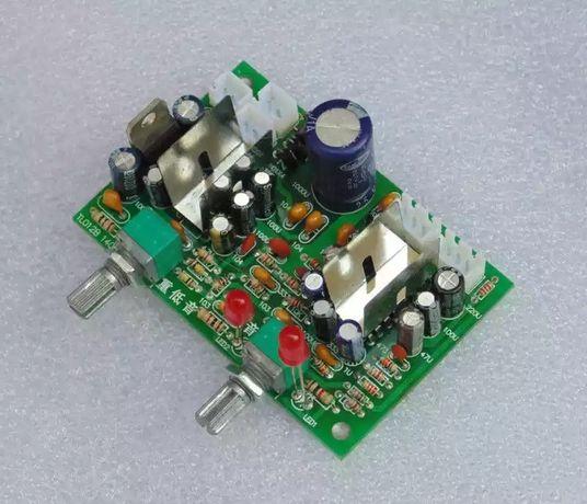 усилитель мощности  +сабвуфер. 2,1 TEA2025B 2*6 Вт+12 W. DC 5-12V. Саб