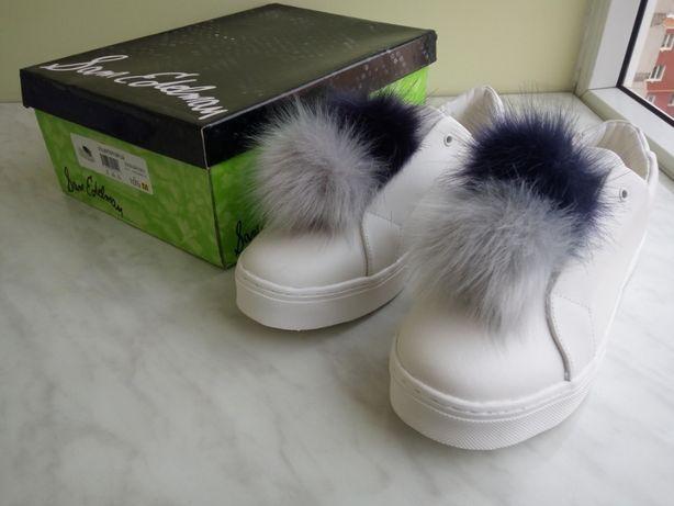 Дизайнерские Слиппоны кроссовки Sam Edelman Leya White US10.5 EUR40.5
