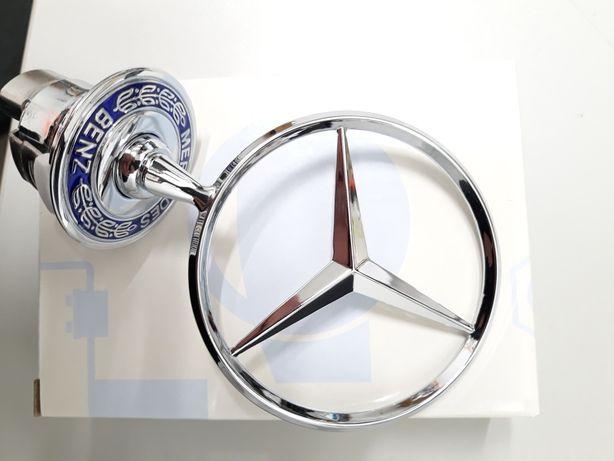 Simbolo Mercedes capon frente Novo