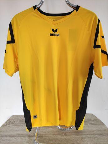 Koszulka sportowa ERIMA, nowa z metką, roz. M, nowa, męska, żółta