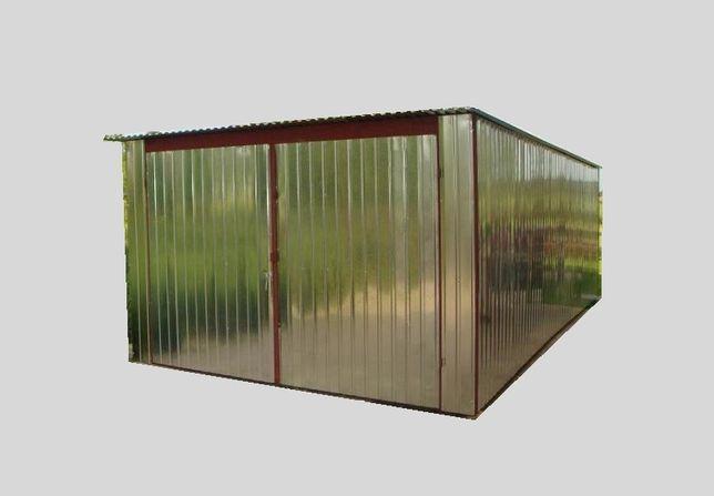 Garaż blaszany BLASZAK MAGAZYNEK SCHOWEK 4x5m, dostawa i montaż