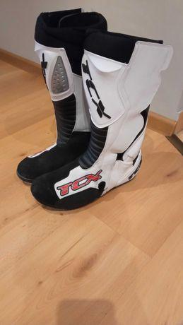Buty żużlowe TCX z laczkiem (łyżwą)