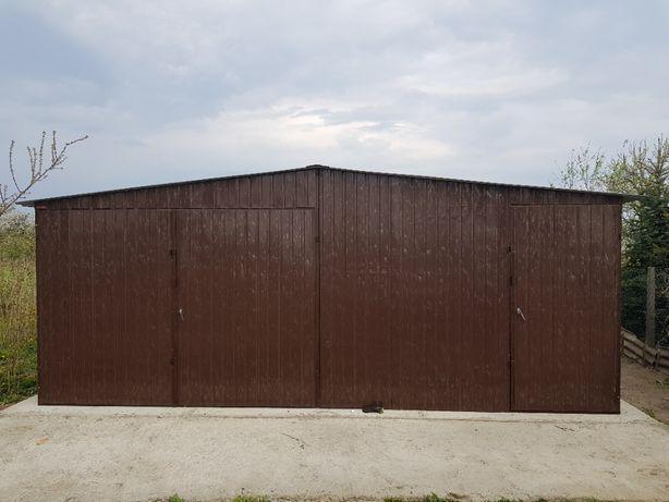 blaszak garaż na budowę schowek garaż blaszany konstrukcja stalowa 3x5