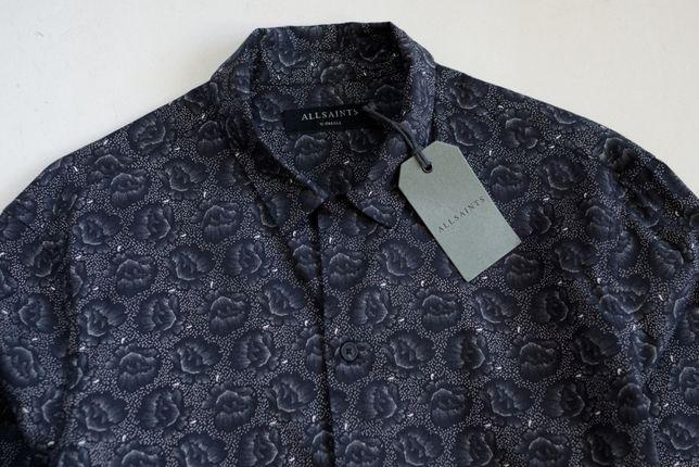 Рубашка AllSaints. ткань boss armani. линия hilfiger canali zegna