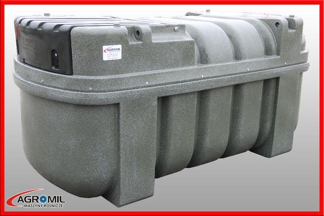Zbiornik do paliwa Agroline cpn on 2500 L fortis dwupłaszczowy na ropę