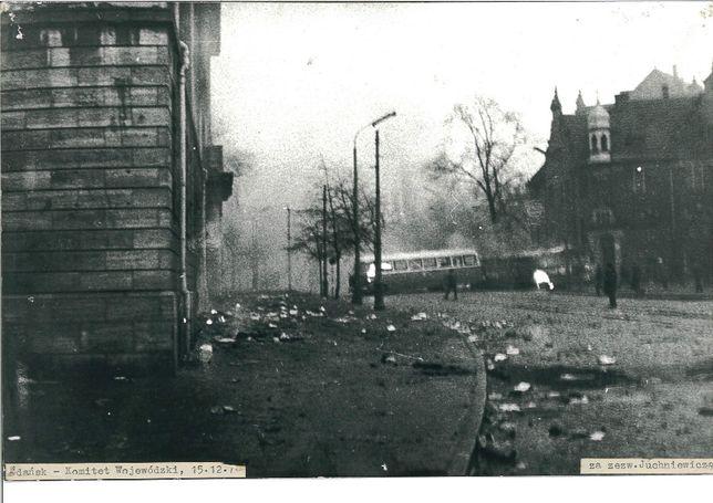 grudzień 70 gdańsk fotografia