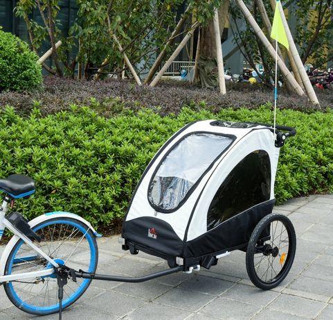 Przyczepka dziecięca jogger przyczepka rowerowa dla 2 dzieci