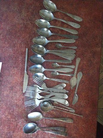 Ложки столовые вилки вилочки ложечки ножи